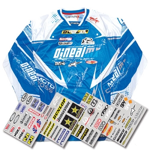 Jersey Iron-On Sponsor Kit