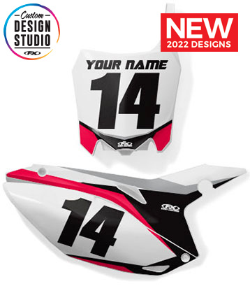 Honda Custom Number Plate Graphics