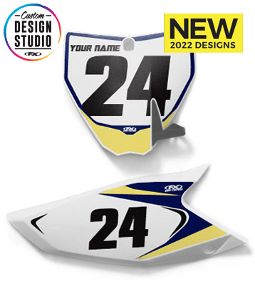Husqvarna/Husaberg Custom Number Plate Graphics