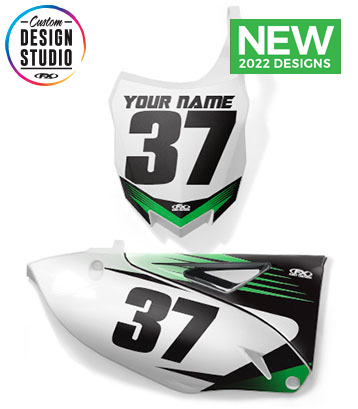 Kawasaki Custom Number Plate Graphics