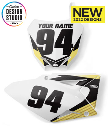 Suzuki Custom Number Plate Graphics