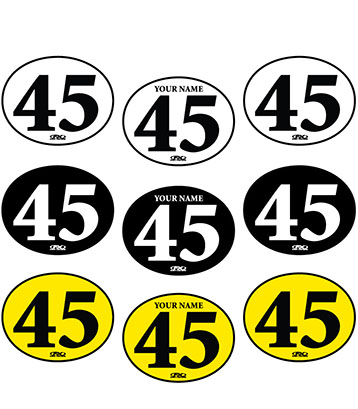 Vintage Custom Number Plate Graphics
