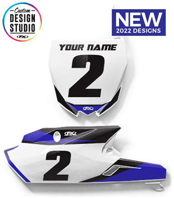 Yamaha Custom Number Plate Graphics