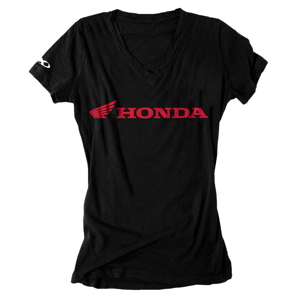 honda horizontal women 39 s t shirt. Black Bedroom Furniture Sets. Home Design Ideas