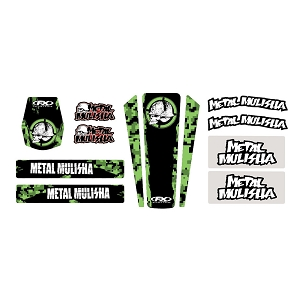 Metal Mulisha Universal Kawasaki Trim Kit