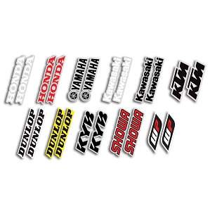 Universal Fork/Swing Arm Stickers