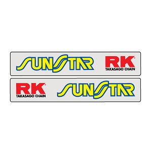 Universal Sunstar RK Swing Arm Graphics