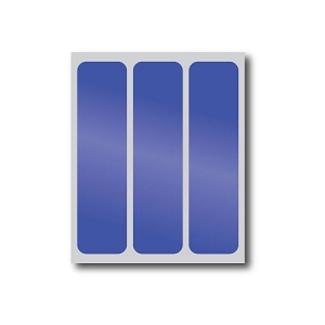 Blue Reflective Stickers (3 Pack)