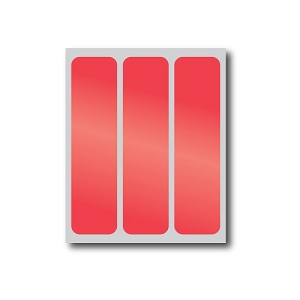 Red Reflective Stickers (3 Pack)