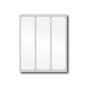 White Reflective Stickers (3 Pack)