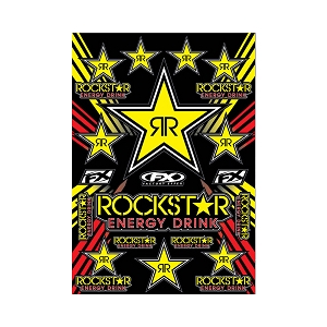 Rockstar Sticker Sheet