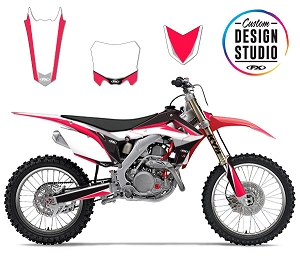Custom Motocross Graphics: Honda Podium