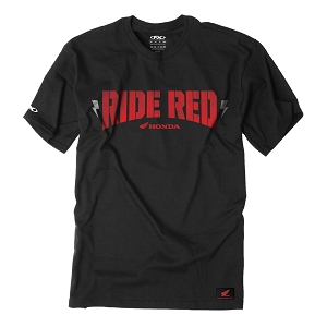 Honda Ride Red Bolt T-Shirt