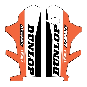 "KTM ""Sponsor"" Lower Fork Graphic"