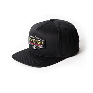Rockstar Emblem Snap-back Hat