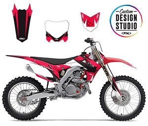 Custom Motocross Graphics: Honda Shattered