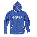 Yamaha Racing Zip-Up Hoodie