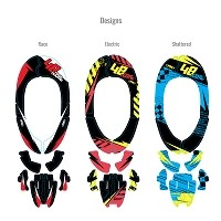 DX1 Custom Alpinestar Brace Graphic Kit