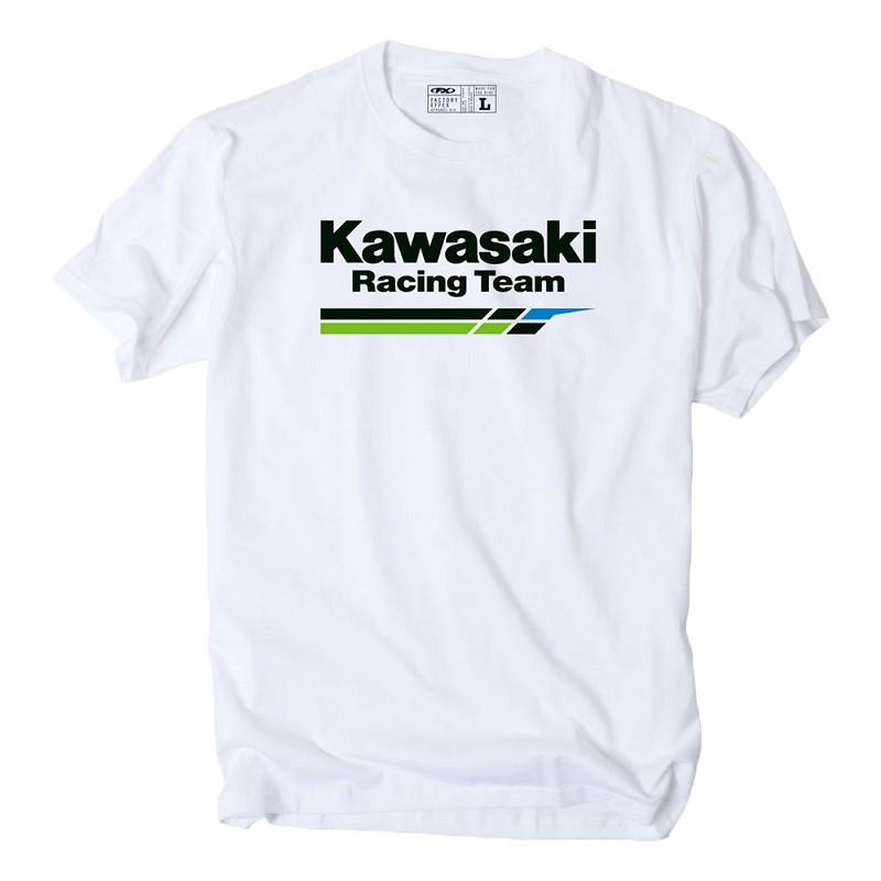 kawasaki racing t shirt. Black Bedroom Furniture Sets. Home Design Ideas