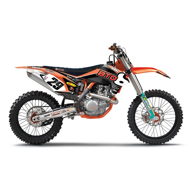 2013 BTO KTM Team Graphic Kit