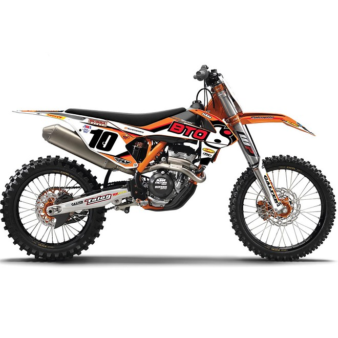 2015 BTO KTM Team Graphic Kit