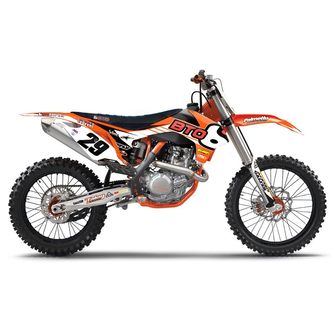 2014 BTO KTM Team Graphic Kit