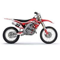 EVO 10 Shroud Graphic Kit CRF250 10-13, CRF450 09-12