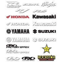 Sport Bike Die-cut 1ft Stickers