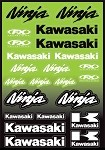 Kawasaki Ninja Sticker Sheet