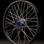 Mag Series Front Wheel Black Rim/Blue Hub