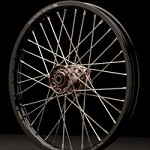 Mag Series Front Wheel Black Rim/Mag Hub