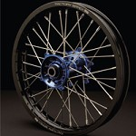 Mag Series Rear Wheel Black Rim/Blue Hub
