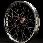 Mag Series Rear Wheel Silver Rim/Mag Hub