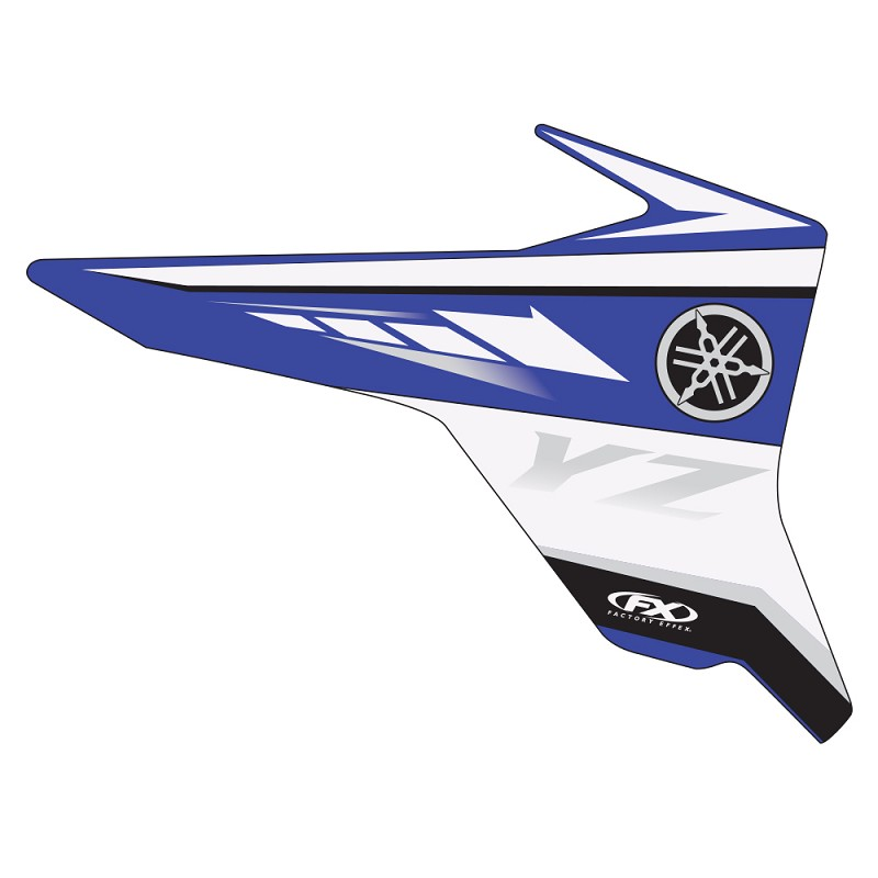 2008 yamaha oem graphics yz250f 450f 06 09 for Yamaha replacement decals