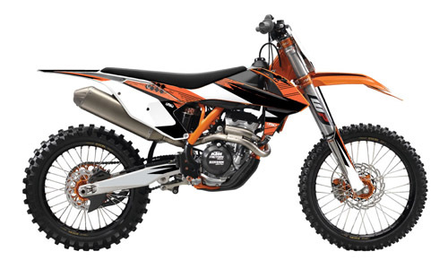 KTM Custom Graphic Kits