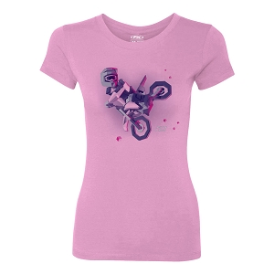 Moto Kids Girls Youth T-Shirt