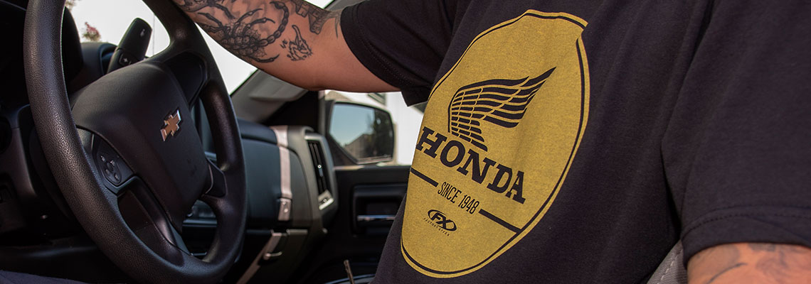 honda mens apparel
