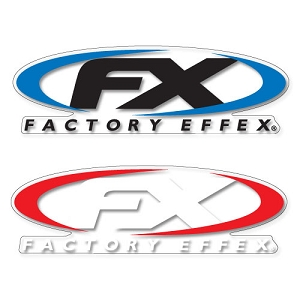 Big FX logo sticker