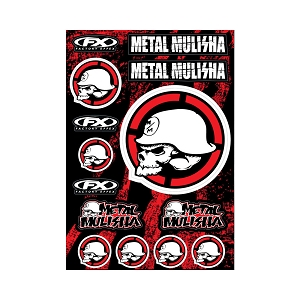Metal Mulisha Sticker Sheet