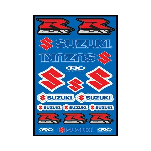 Suzuki GSXR Sticker Sheet