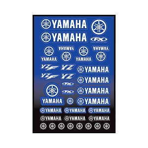 Yamaha Moto Sticker Sheet
