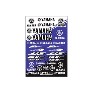 YAMAHA YZ Sticker Sheet