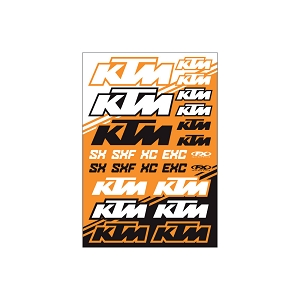 KTM SX Sticker Sheet