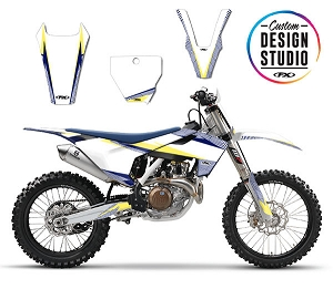 Custom Motocross Graphics: Husqvarna Apex