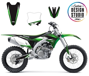 Custom Motocross Graphics: Kawasaki Apex