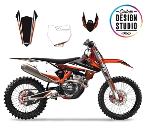 KTM Apex Series Custom Graphic Kit