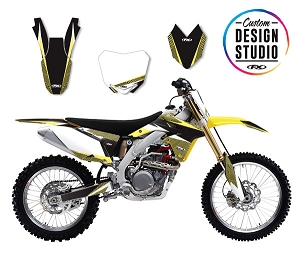 Suzuki Apex Series Custom Graphic Kit