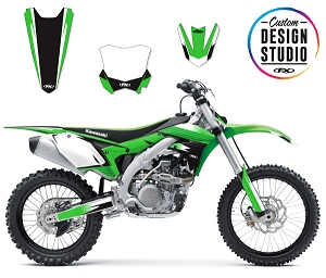 Custom Motocross Graphics: Kawasaki Atak