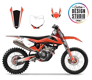 KTM Atak Series Custom Graphic Kit