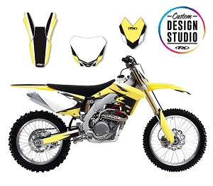 Suzuki Atak Series Custom Graphic Kit